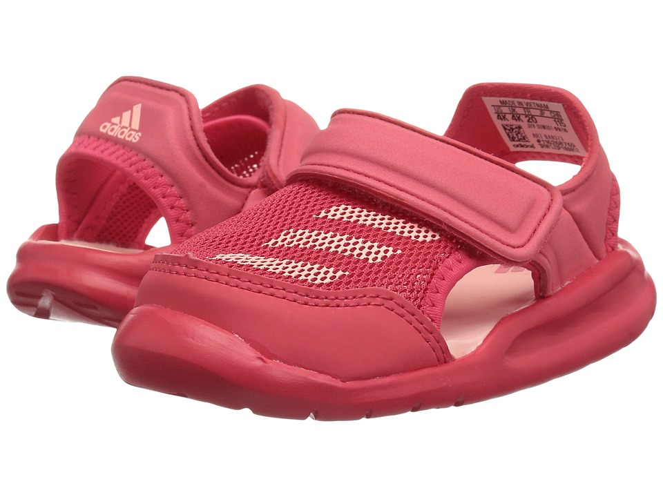 adidas Kids - Forta Swim 1 (Infant/Toddler) (Core Pink/Haze Coral) Girls Shoes