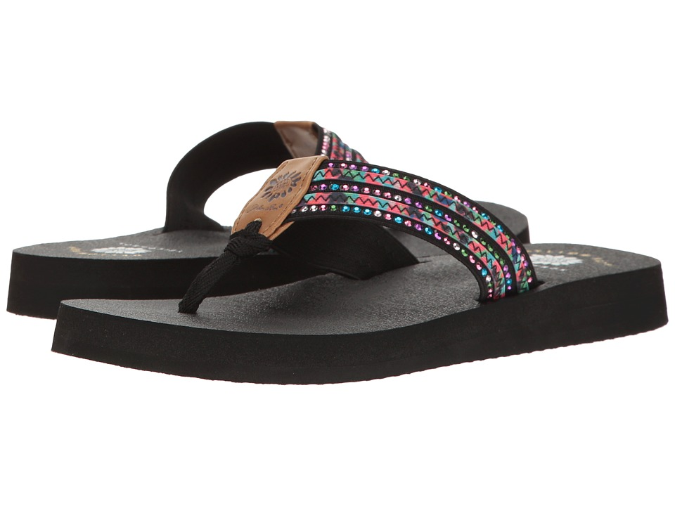 Yellow Box - Darby (Black Multi) Women's Sandals
