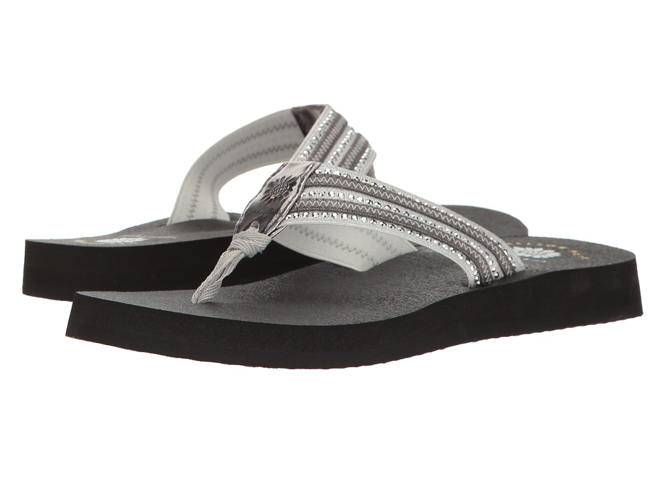Yellow Box - Darby (Silver) Women's Sandals
