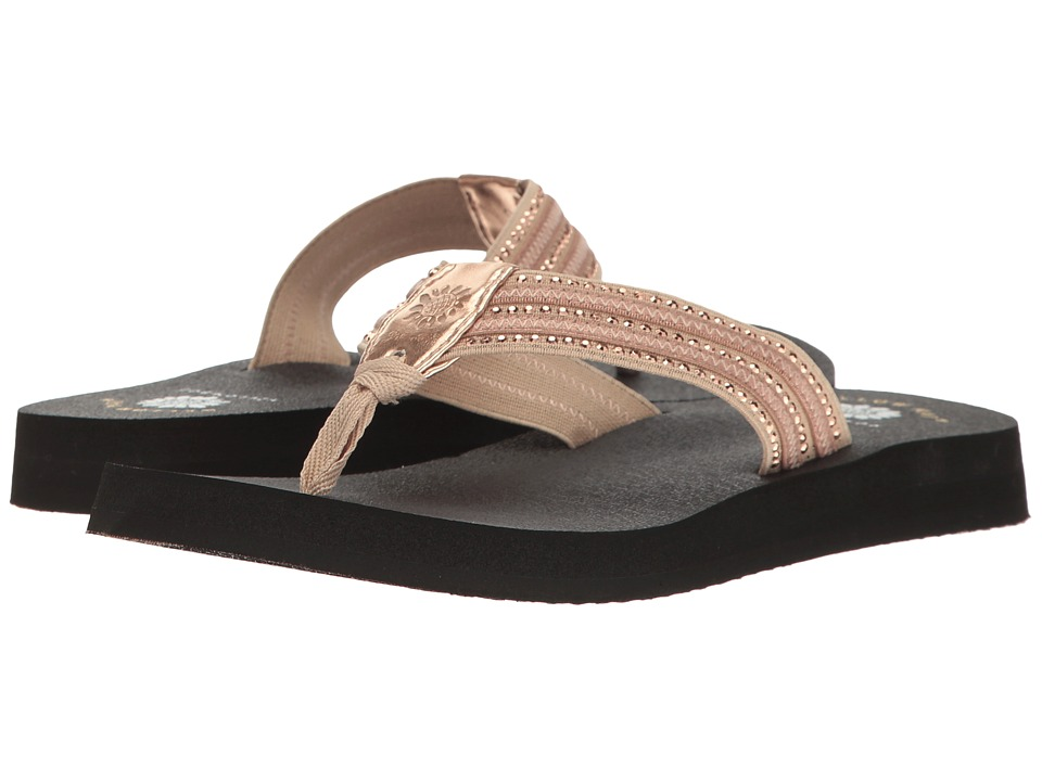 Yellow Box - Darby (Rose Gold) Women's Sandals