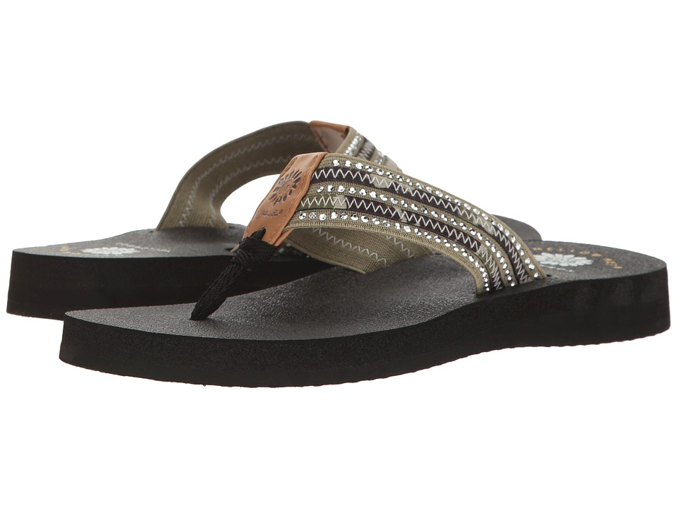 Yellow Box - Darby (Olive) Women's Sandals