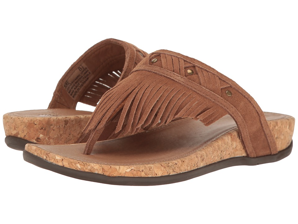 Yellow Box - Duke (Chestnut) Women's Sandals