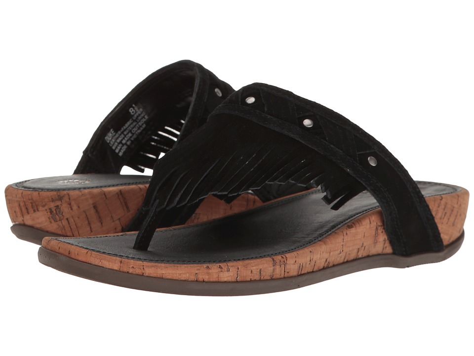 Yellow Box - Duke (Black) Women's Sandals
