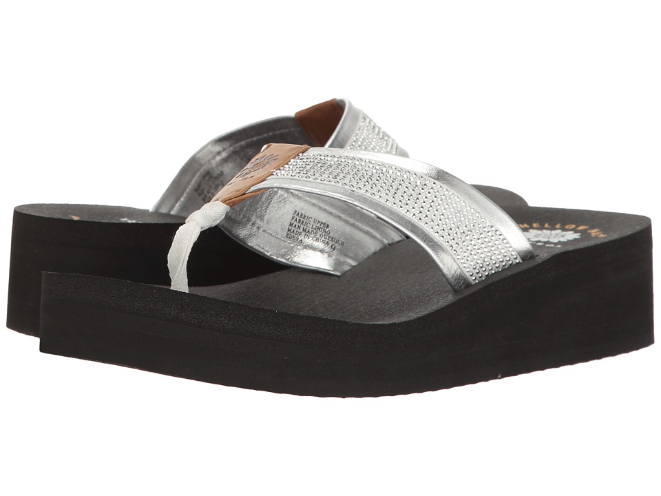 Yellow Box - Edeva (Silver) Women's Sandals