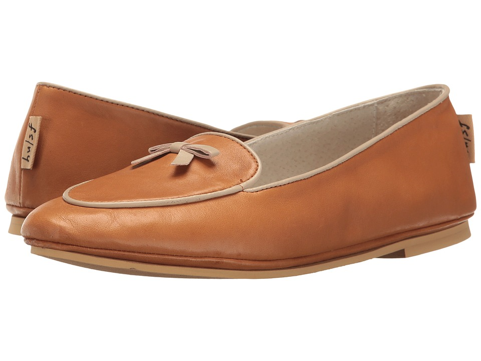 French Sole - Sweet (Caramel Nappa Leather) Women's Flat Shoes