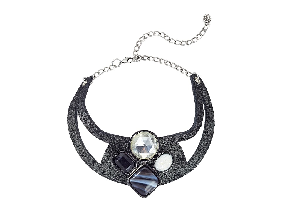 Leatherock - N211 (Gunmetal) Necklace