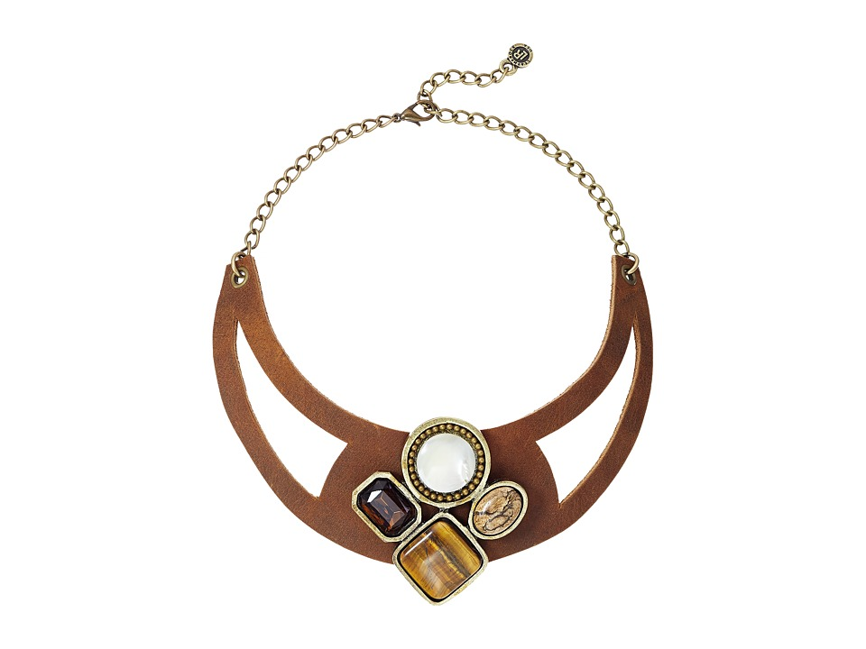 Leatherock - N212 (Tobacco) Necklace