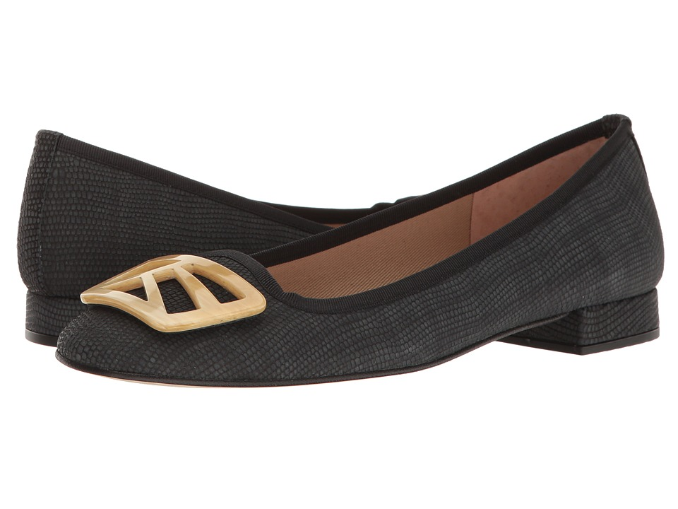 French Sole Talisman (Black Ibiza Printed Leather) Women