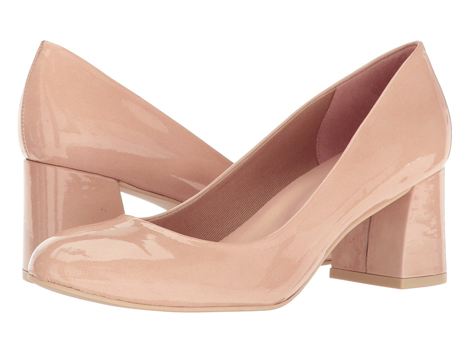 French Sole - Trance (Nude Patent Leather) Women's Flat Shoes