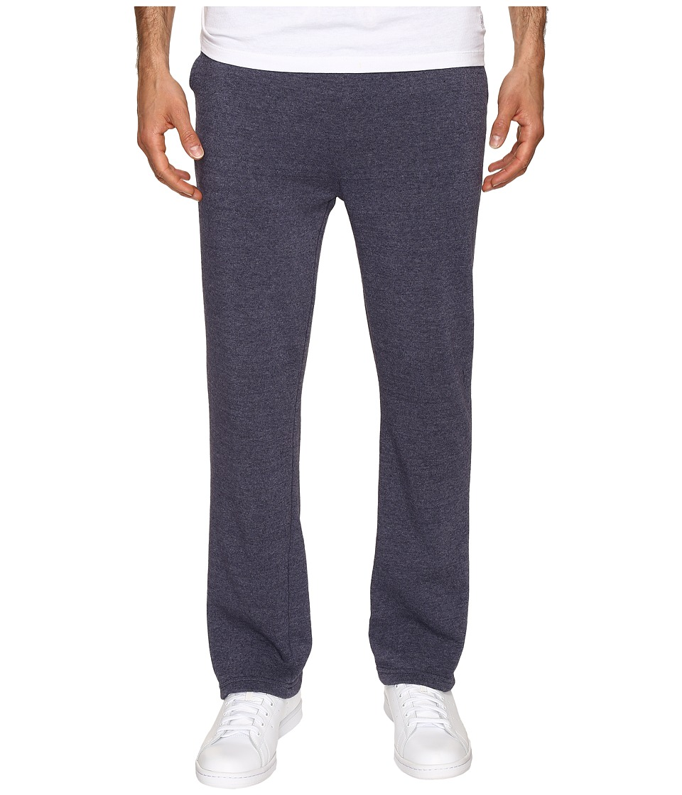 Alternative - Eco Fleece The Hustle Open Bottom Sweatpants (Eco True Midnight) Men's Fleece