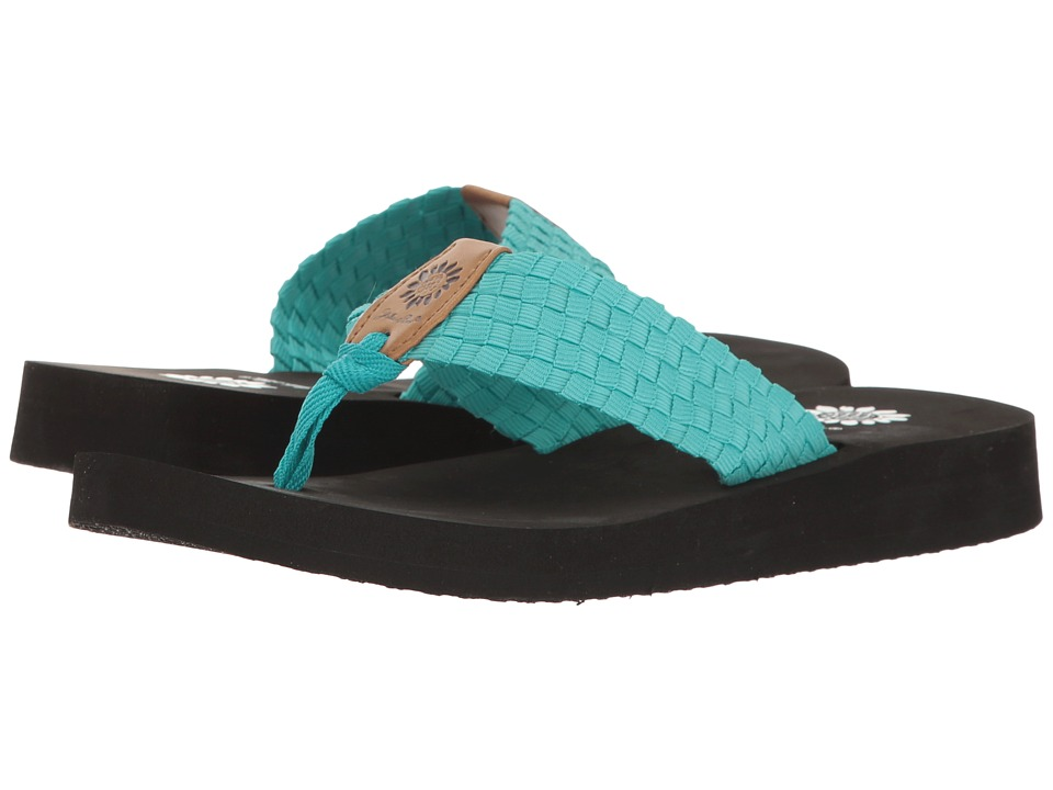 Yellow Box - Soleil (Turquoise) Women's Sandals