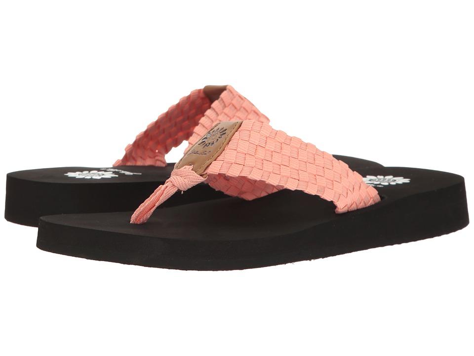 Yellow Box - Soleil (Coral) Women's Sandals