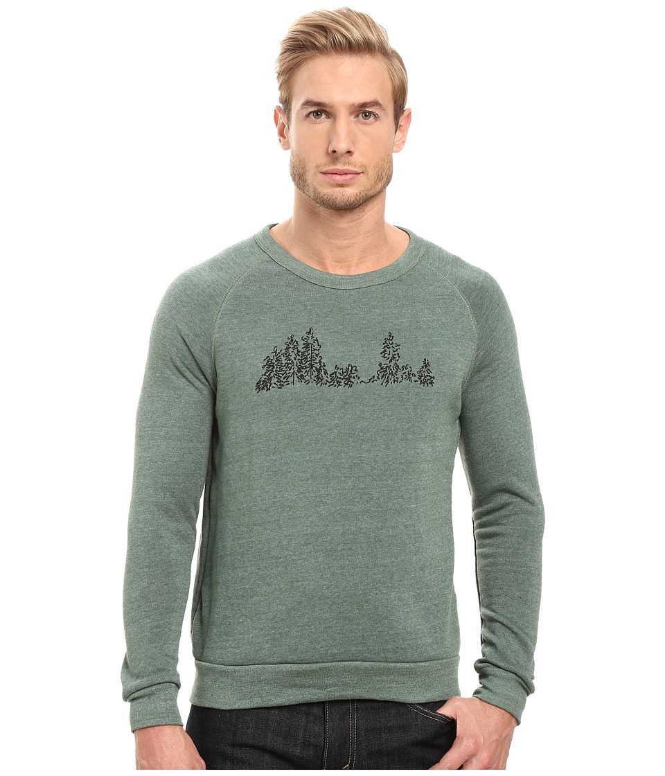Alternative - Graphic Champ (Eco True Dusty Pine Tree Graphic) Men's Sweatshirt