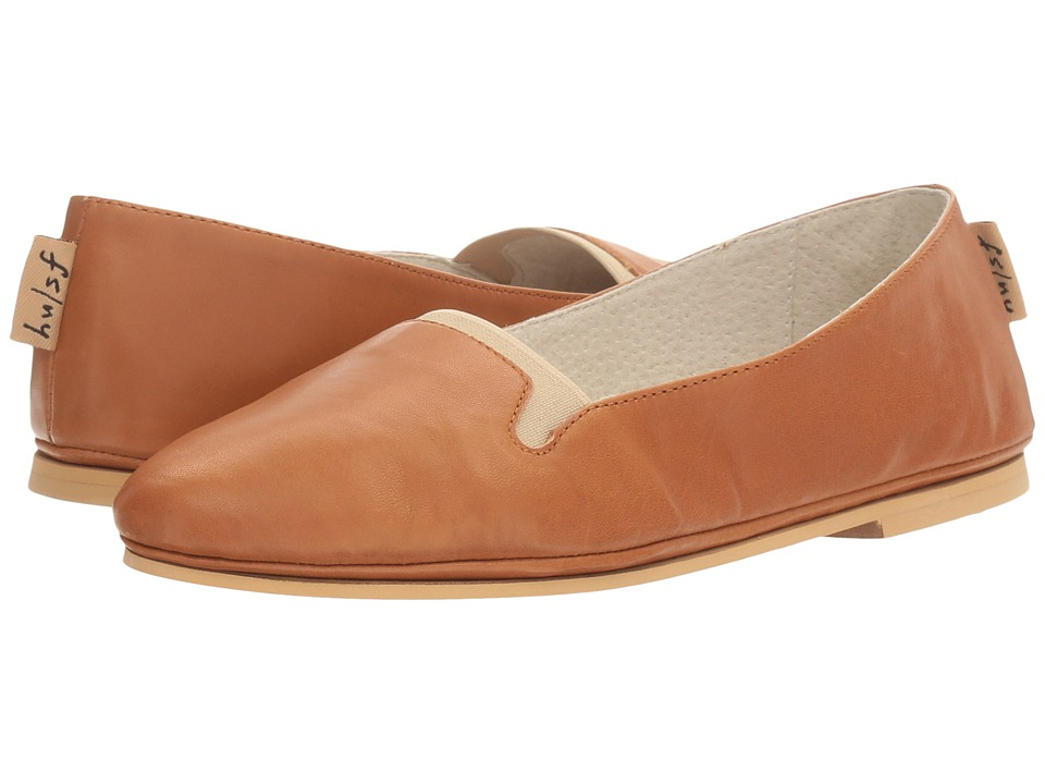 French Sole - Urge (Caramel Nappa/Natural Leather) Women's Shoes