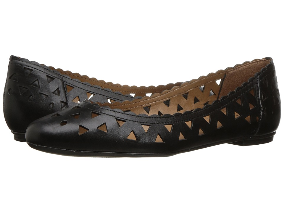 French Sole Valley (Black Leather) Women