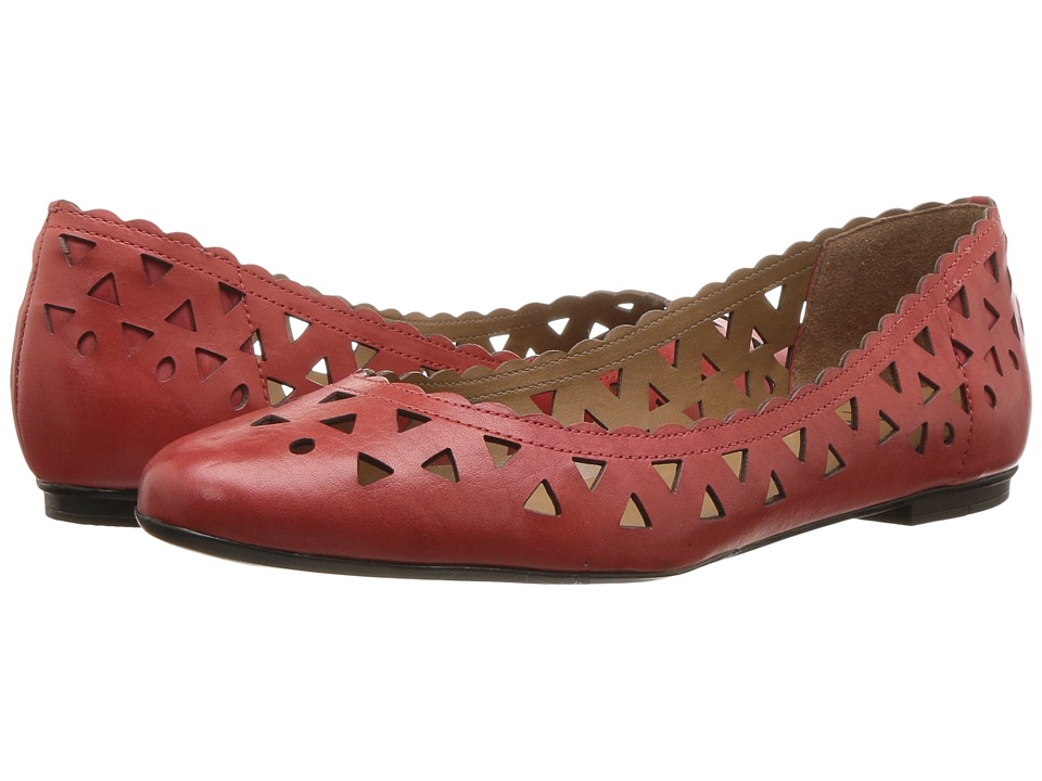 French Sole - Valley (Red Leather) Women's Shoes