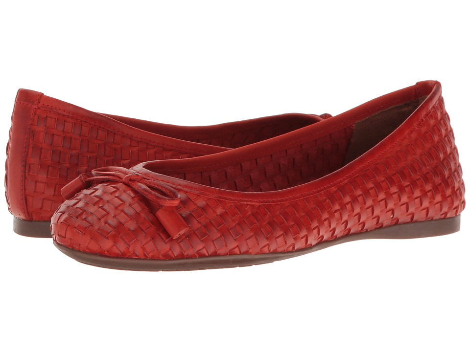 French Sole - Vogue (Red Leather) Women's Shoes