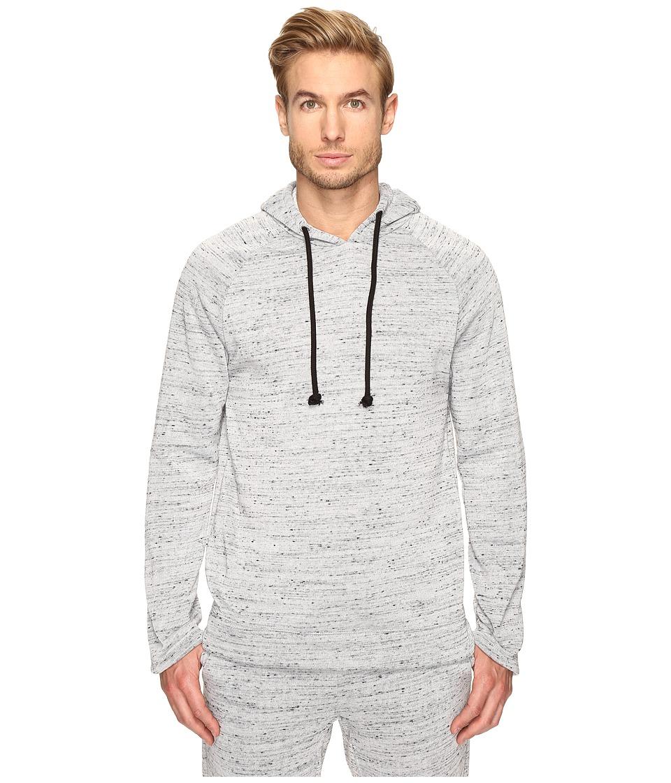 Alternative - Plush Melange Fleece Wheels Up Hoodie (Cool Grey) Men's Sweatshirt