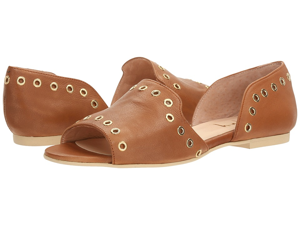 French Sole - Whistle (Whiskey Soft Calfskin Leather) Women's Shoes