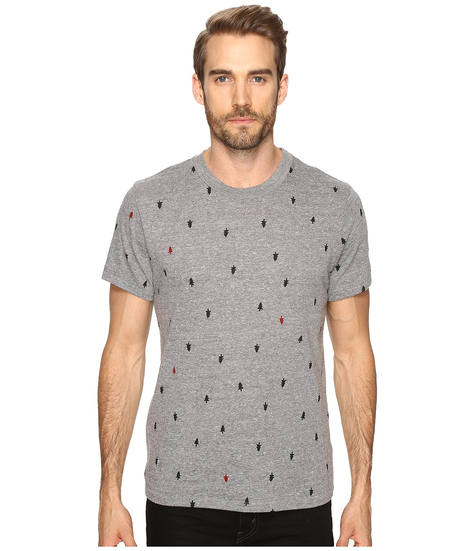 Alternative - Eco Crew T-Shirt (Eco Grey Tree Dot) Men's T Shirt