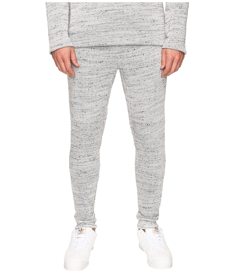 Alternative - Plush Melange Fleece Flight Ready Jogger (Cool Grey) Men's Casual Pants