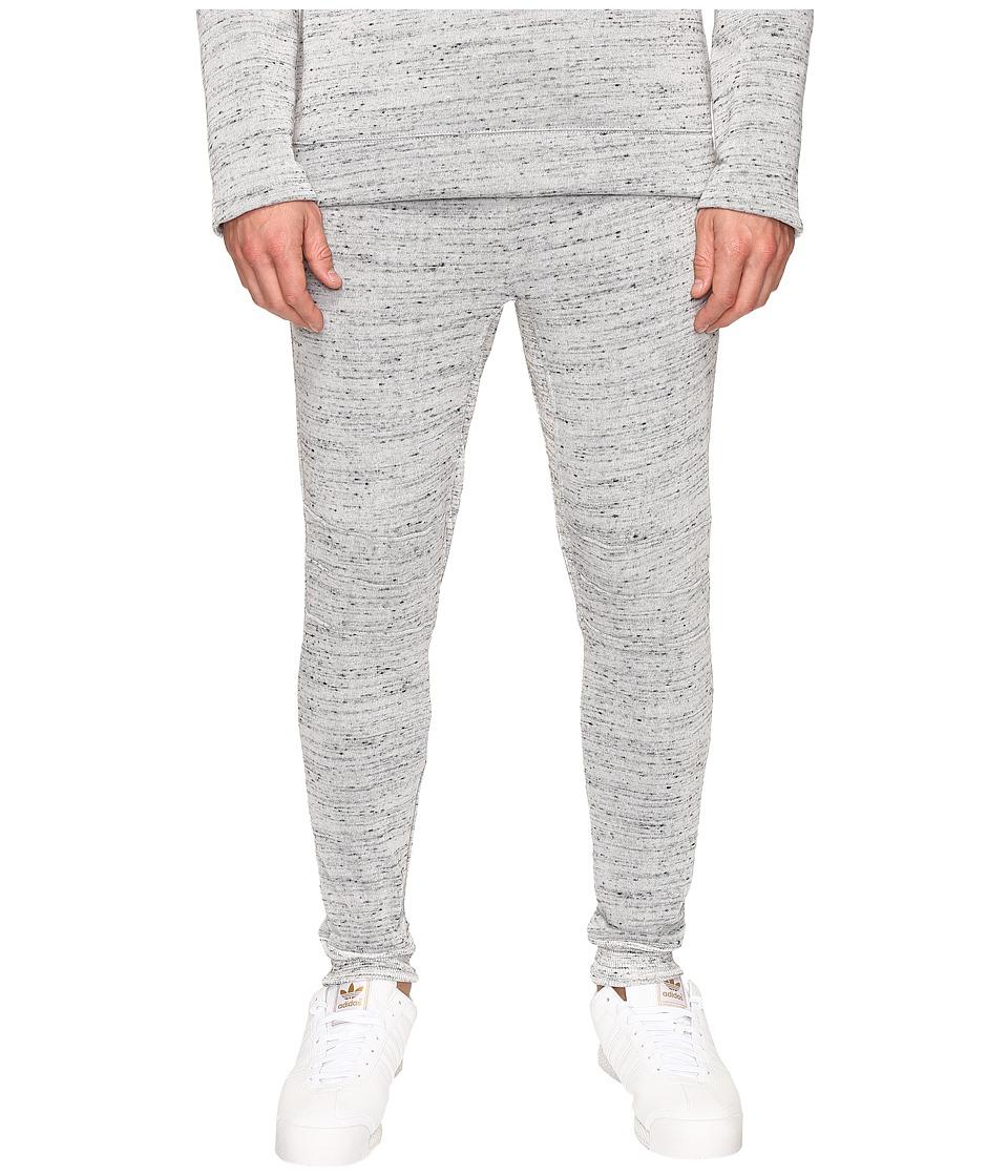 Alternative - Plush Melange Fleece Flight Ready Jogger (Cool Grey) Men's Casual Pants