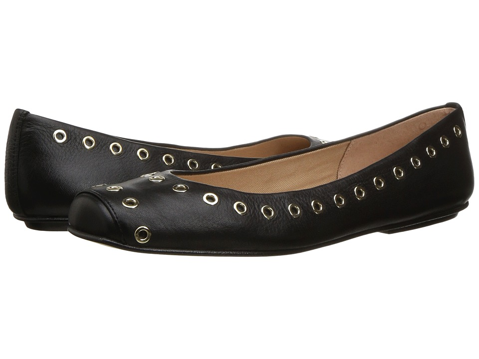 French Sole - Willow (Black Soft Calfskin Leather) Women's Shoes