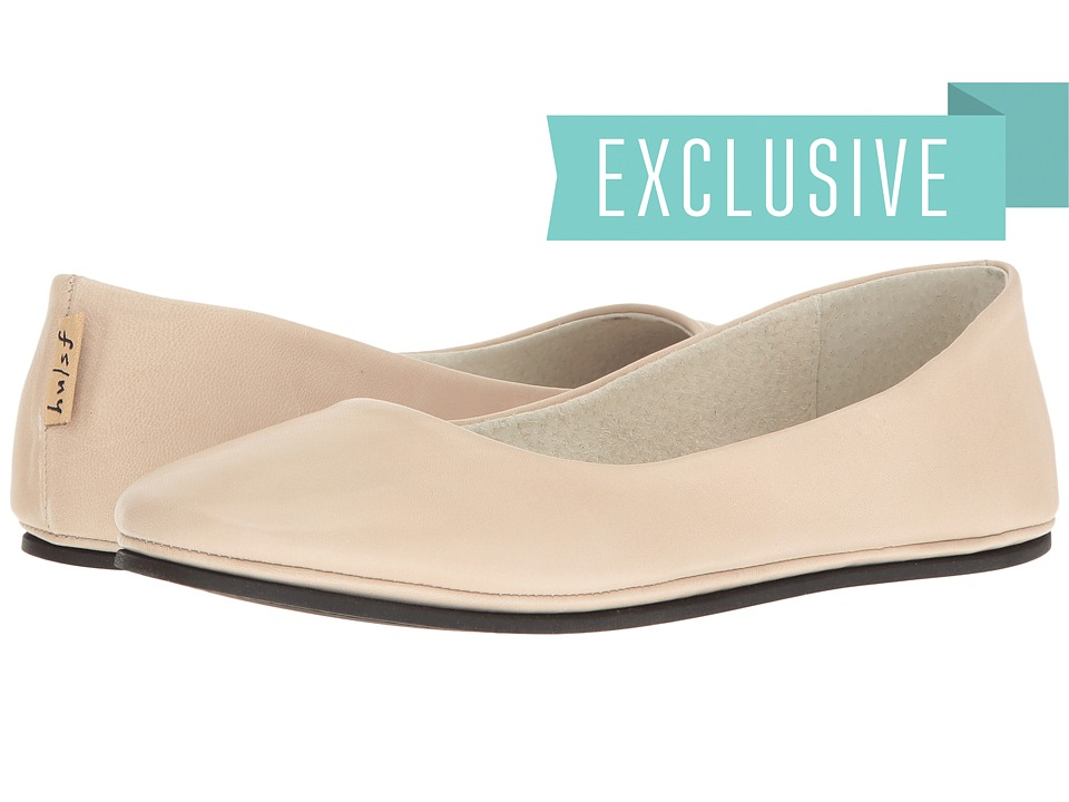 French Sole Sloop Flat (Sand) Women