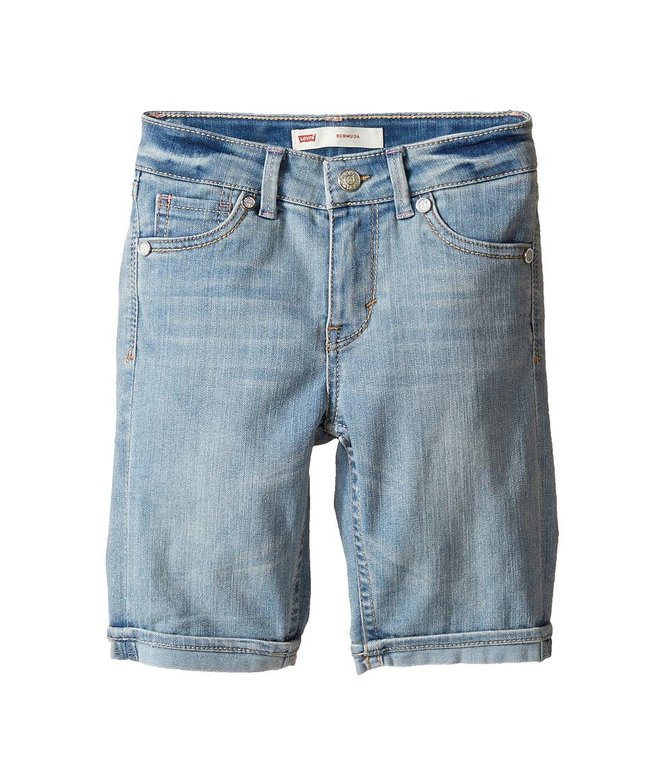 Levi's(r) Kids - Sweetie Bermuda Shorts (Little Kids) (Deserted Indigo) Girl's Shorts