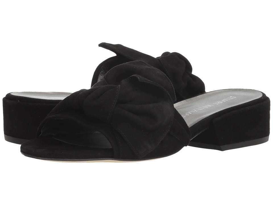 Stuart Weitzman - Giftwrap (Black Suede) Women's Shoes