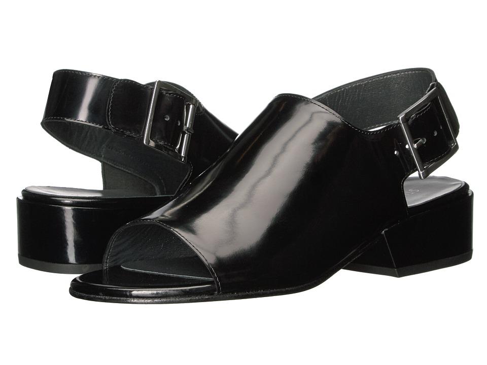 Stuart Weitzman Coverme (Nero Polished Calf) High Heels