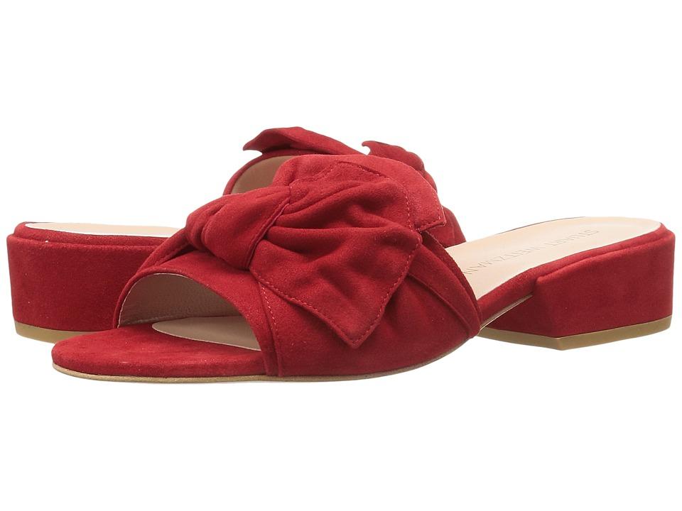 Stuart Weitzman - Giftwrap (Red Suede) Women's Shoes