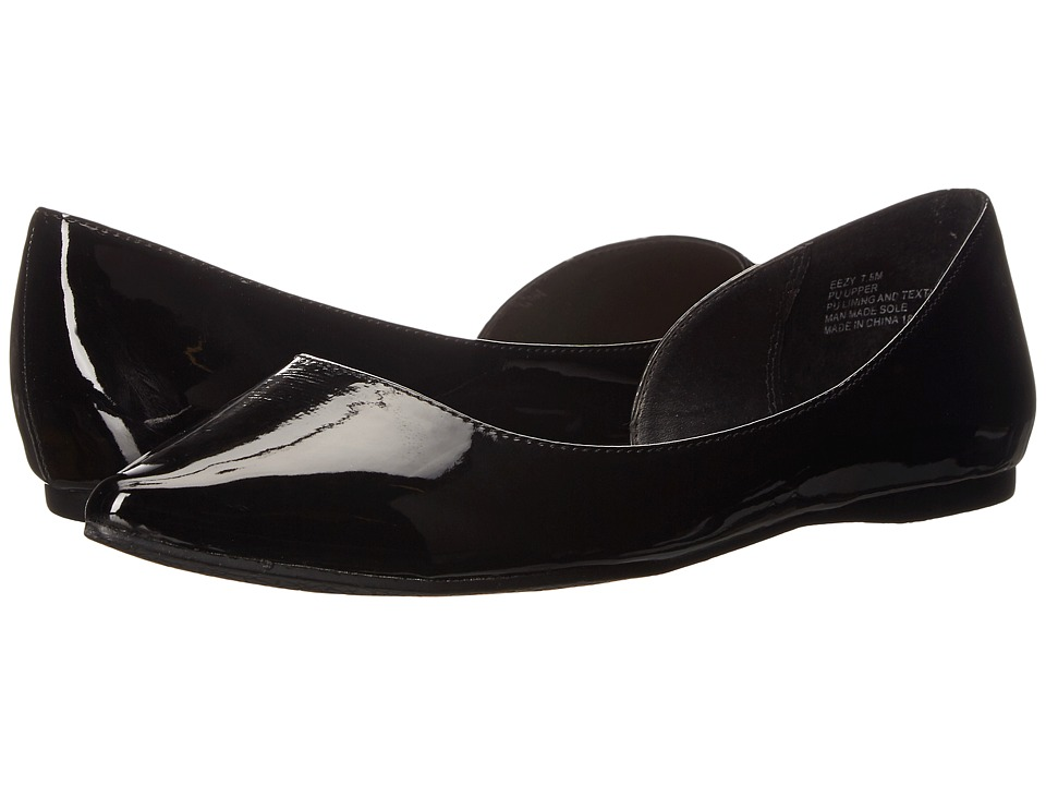 Madden Girl - Eezy (Black Patent) Women's Flat Shoes