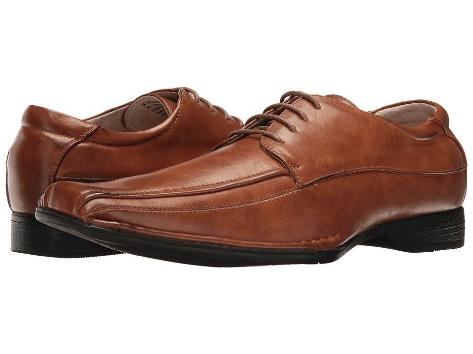 Steve Madden - Tell (Cognac) Men's Slip on Shoes