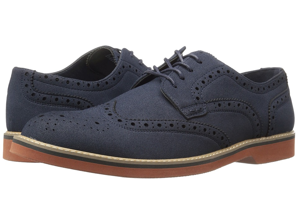 Steve Madden - Edward (Navy) Men's Shoes