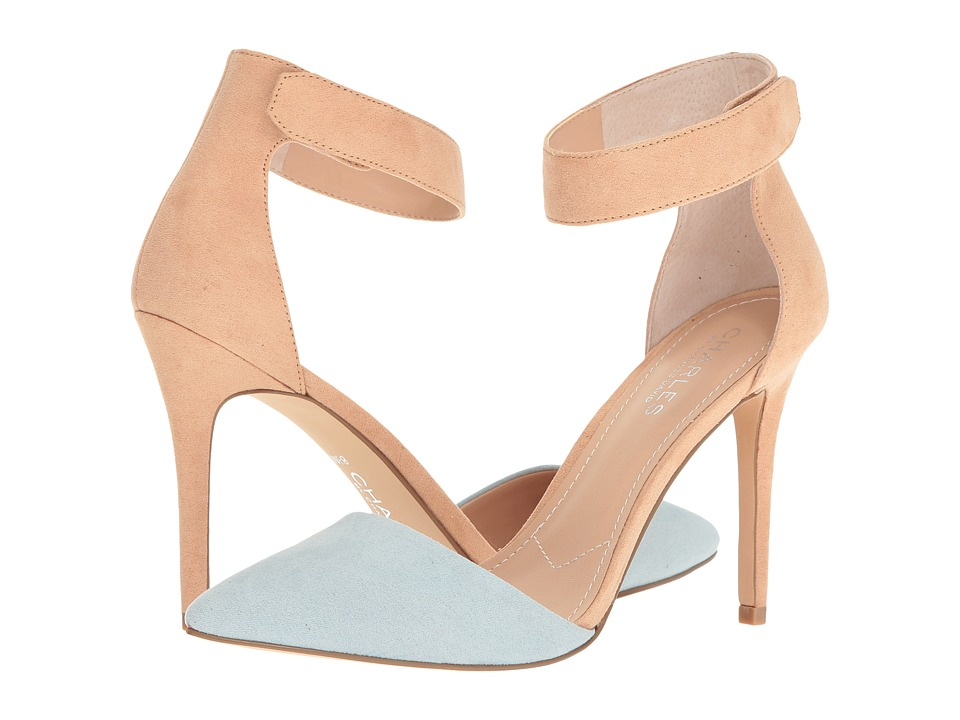 Charles by Charles David - Pointer (Carolina Blue/Nude) Women's Shoes
