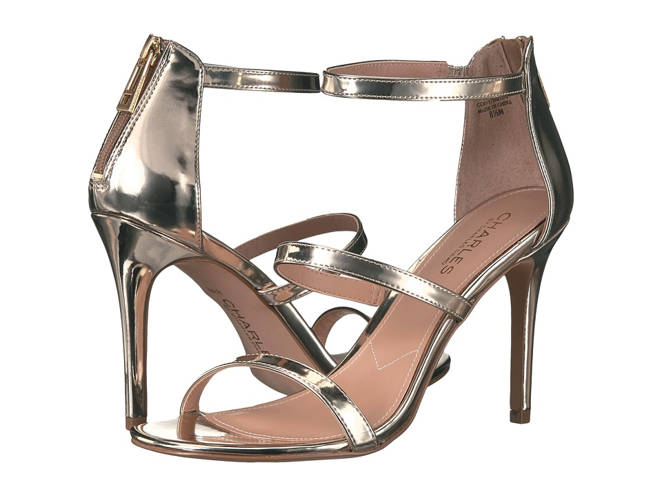 Charles by Charles David Ria Gold Speccio Womens Shoes