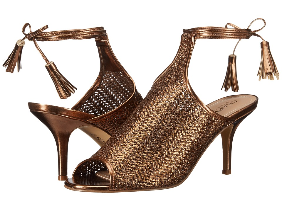Charles by Charles David - Niko (Bronze Basket Woven) Women's Shoes