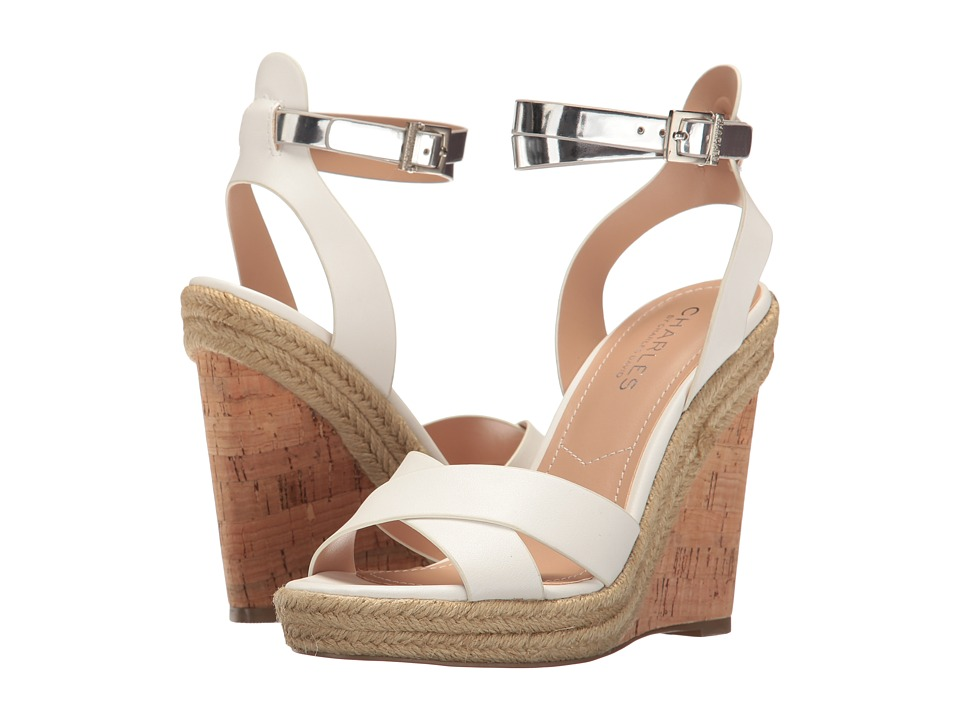 Charles by Charles David - Brit (Pure White/Silver) Women's Shoes