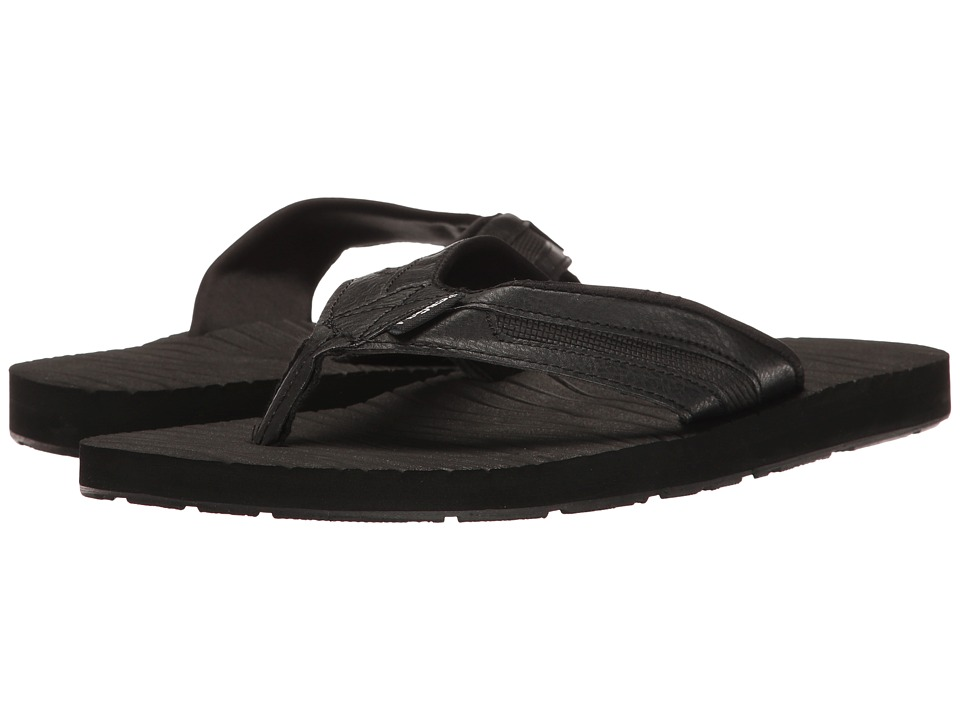 Flojos - Mark (Black) Men's Sandals