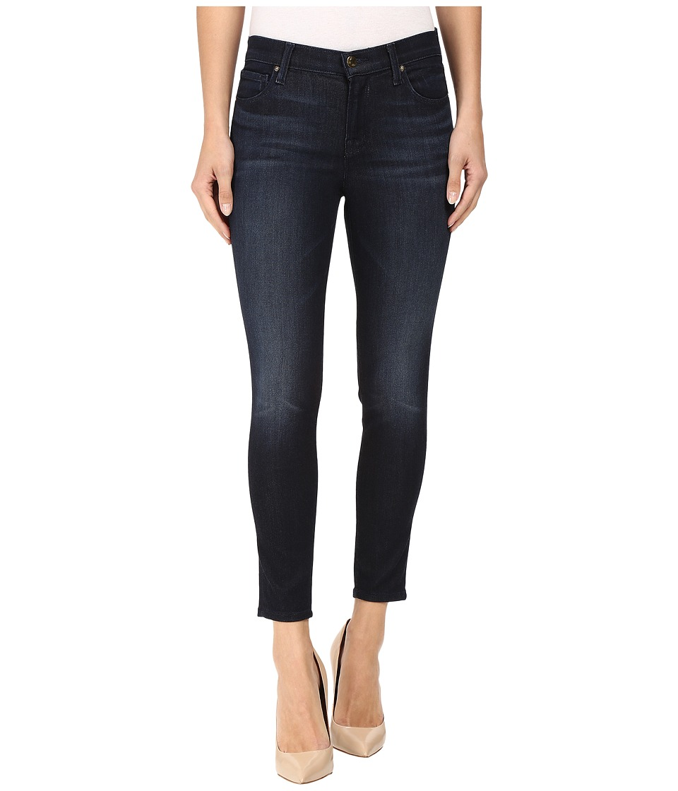 J Brand - Mid-Rise Capri in Dark Innovation (Dark Innovation) Women's Capri