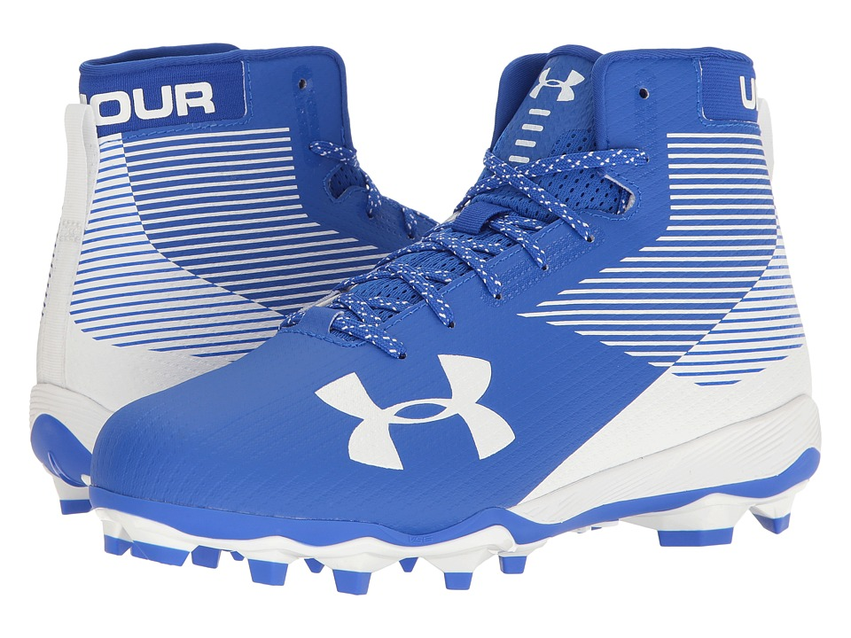 Under Armour - UA Hammer MC (Royal/White) Men's Cleated Shoes