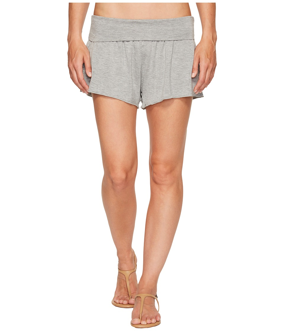 Body Glove - Peyton Shorts Cover-Up (Heather Grey) Women's Swimwear