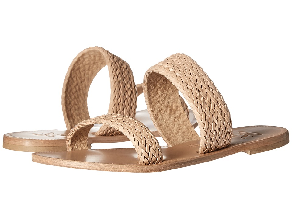Joie - Sable (Natural Metallic Woven Trim) Women's Sandals