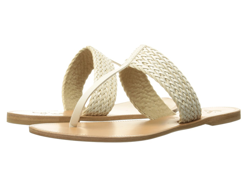Joie - Haile (Latte Vacheta Woven Trim) Women's Sandals