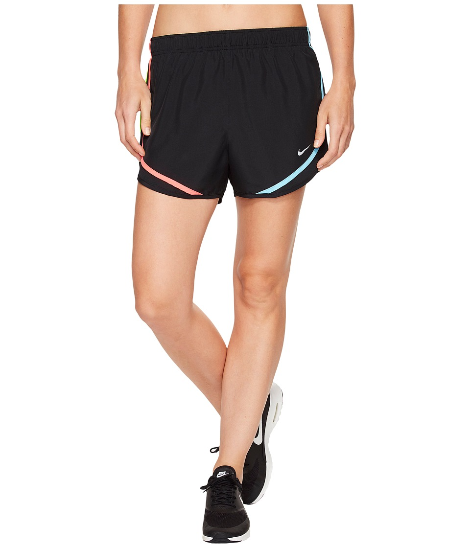 Nike - Dry Tempo Short (Black/Racer Pink/Wolf Grey) Women's Shorts