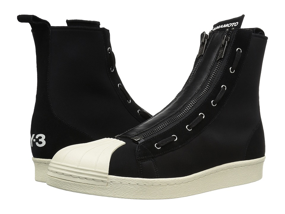 adidas Y-3 by Yohji Yamamoto - Y-3 Pro Zip (Core Black/Core Black/Core White) Men's Shoes