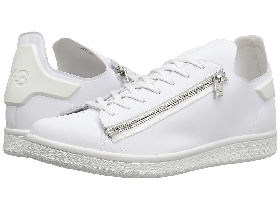 adidas Y-3 by Yohji Yamamoto - Y-3 Stan Zip (FTW White/FTW White/Crystal White) Men's Shoes