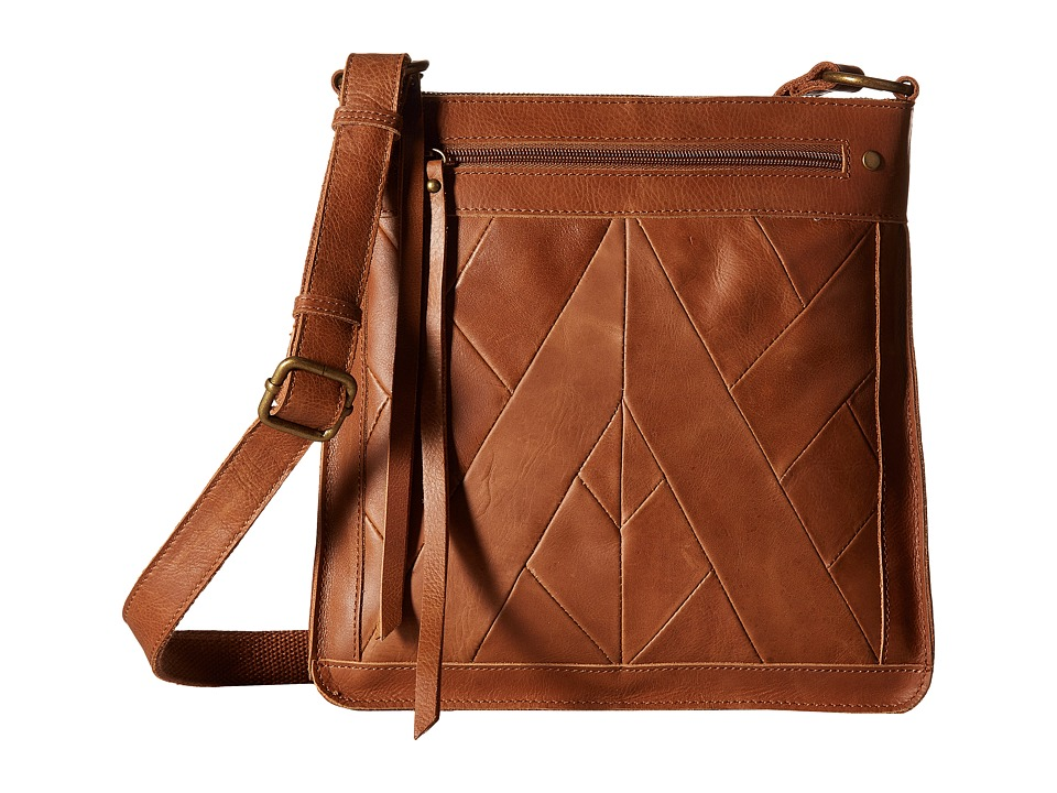 Lucky Brand - Piece Train Crossbody (Tobacco) Cross Body Handbags