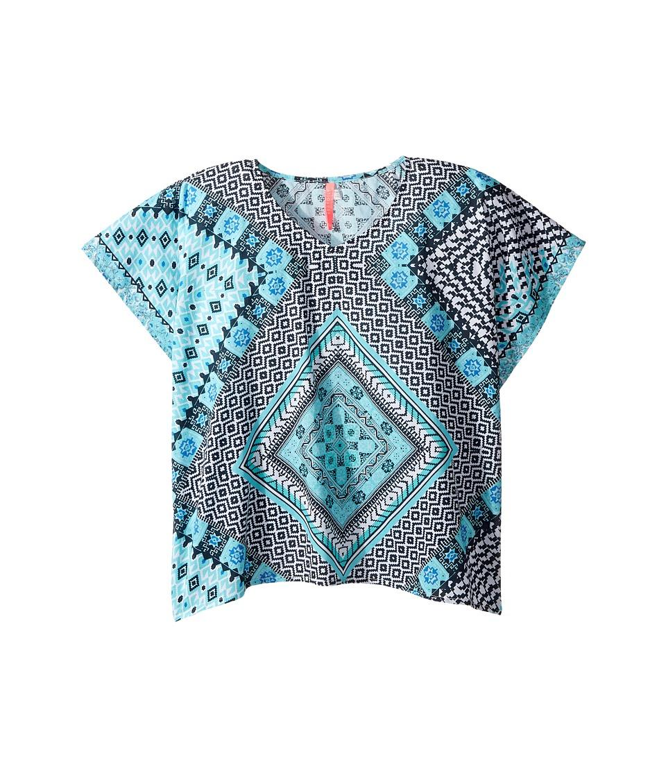 Seafolly Kids - Aztec Tapestry Kaftan (Little Kids/Big Kids) (Multi) Girl's Swimwear